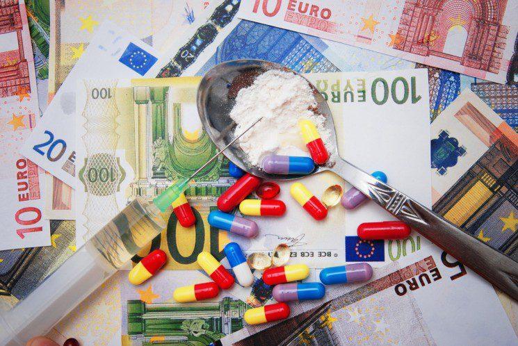 money & pills