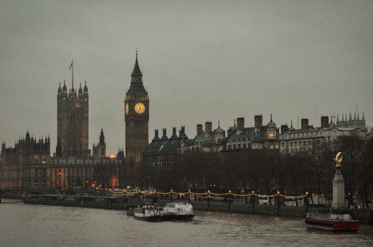 La pas prin Londra